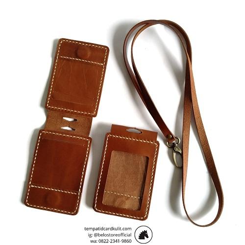 harga id card holder kulit magnet banjarmasin