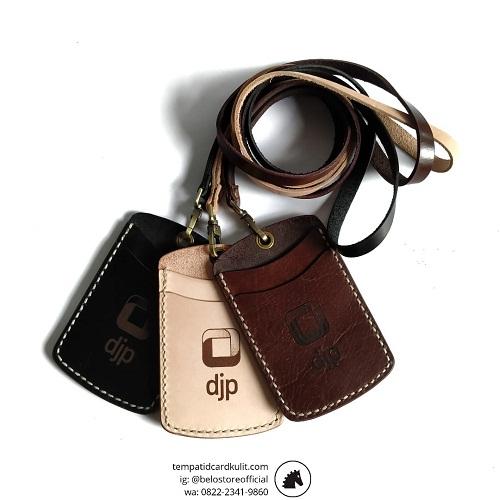 id card holder kulit asli dirjen pajak