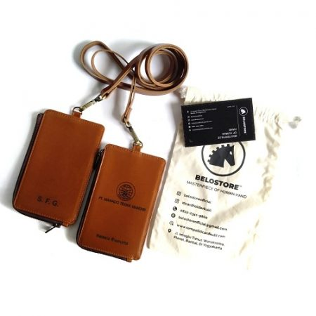 id card holder kulit PT. MANADO TEKNIK MANDIRI